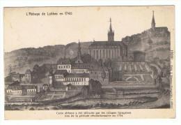 LOBBES - Abbaye En 1740 (Détruite Par Les Troupes Française En 1794) - Lobbes