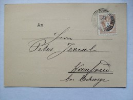AUSTRIA 1883 POSTCARD FROM TRIESTE - Briefe U. Dokumente