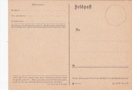"""2 Stück """"Feldpostkarten, Unbenutzt - 1939-45"""