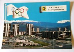 GRENOBLE VILLAGE OLYMPIQUE ET CHAINE DE BELLEDONE - Grenoble