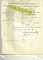 88 - Vosges - SAULXURES-SUR-MOSELOTTE - Facture LAROCHE & MAURIAC - Ameublement – 1921 - 1900 – 1949