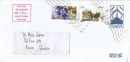 Malta 2006 Marsa Postage Due Taxed Underfranked Postage Paid Stationary Window Cover - Malta