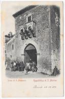SAN MARINO-REPUBBLICA DI SAN MARINO-PORTA DI S.FRANCESCO - San Marino