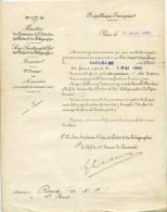 Ministère Des Postes Et Des Télégraphes,Commerce,industrie, Paris,1900  ,Toulouse,  Nomination, Surnuméraire,  Roux ,