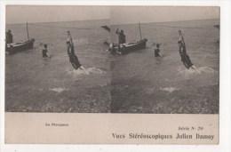 Vues Stéréoscopiques Julien Damoy - Le Plongeon - Stereoscope Cards