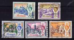 Bermuda - 1966/67 - Definitives (Sideways Watermark, Part Set) - Used - Bermudes