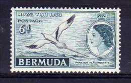 Bermuda - 1953 - Royal Visit - MNH - Bermudes
