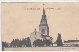 SAINT TRIVIER SUR MOIGNANS, Eglise - Francia