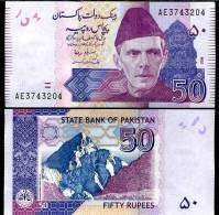 PAKISTAN 50 RUPEES 2009 P NEW UNC - Pakistan