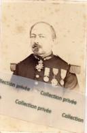 Colonel Moréno, Cdr Légion D´honneur, Campagne De Crimée, Ordre De Medjié ( Turquie), Dédicace - Médailles & Décorations