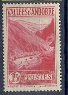 140011285  ANDORRA  FR.   YVERT  Nº  79  */MH - Unused Stamps