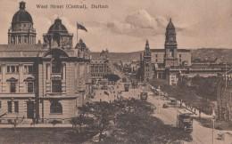 1900 CIRCA - DURBAN WEST STREET (CENTRAL) - Afrique Du Sud