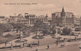 1900 CIRCA - DURBAN TOWN GARDENS AND NìMONUMENT - Afrique Du Sud