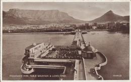 1900 CIRCA - PROMENADE PIER - TABLE MOUNTAIN & LIONS HEAD - Afrique Du Sud