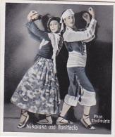 Eckstein Nr.5 - Die Tanzbuhnen Der Welt - Nikolska Und Bonifacio - Cigarette Cards