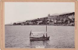 Croatia - Abbazia - Volosca - 1896 - Old Photo On Cardboard 165x110mm - Fotografie