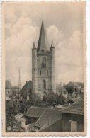 Herne Panorama Op Het Dorp Kerk église - Herne
