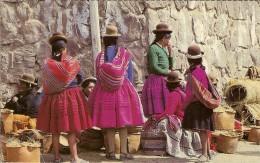MARCHE BOLIVIEN-MARCHANDES DE CERAMIQUES - Bolivie