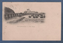 64 PYRENEES ATLANTIQUES - CP SAINT JEAN DE LUZ - FORT SOCOA - LAFFORGUE BAYONNE N°14 - CIRCULEE EN 1905 - Saint Jean De Luz