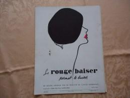 Pub De 1949 - Produits De Beauté - ROUGE BAISER - - Advertising