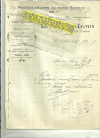 88 - Vosges - VAL-D´AJOL - Facture CHASTAN - Ameublement – 1915 - 1900 – 1949