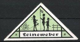 """Reklamemarke Kinderbekleidung Der Marke """"Leineweber"""", Kinder Spielen Soldaten, Grün - Cinderellas"""