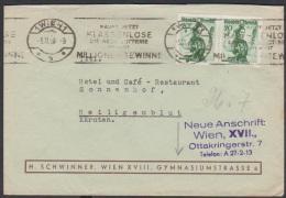 Österreich 1948:  Geschäftsbrief  Wien-Heiligenblut Mit Trachten (siehe Foto/Scan) - 1945-.... 2a Repubblica