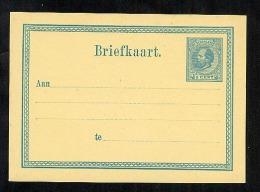 Netherlands Postal Stationery Postcard Briefkaart Unused (Z576) - Entiers Postaux