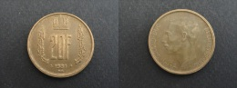 1981 - 20 FRANCS LUXEMBOURG - Luxemburg