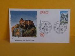 FDC - Réunion De La Franche Comté - 25 Besançon - 23.9.1978 - 1er Jour - FDC