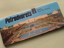 PETRODVORETS Risen From The Ashes 12 Views / Carnet 12 Zichten Grand Format Anno 1988 ( Zie Foto´s Voor Details ) !! - Russie