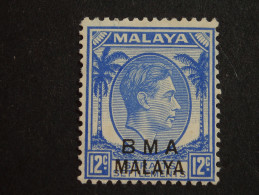 1945  Sg.10 12cent  Mint - Malaya (British Military Administration)
