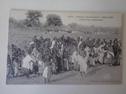 CPA HAUTE GUINEE TAM TAM DJALLONKE - Guinea