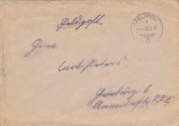 Feldpost WW2: From Norway: 2. Schwadron Aufklärungs-Abteilung 269 FP 33550 Dtd 30.7.1943 - Cover Only  (G45-53) - Militaria