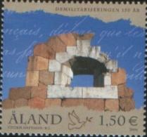 Aland 2006 150 Aland Demilitarization  1v Complete Set ** MNH - Aland