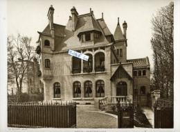 NEUILLY SUR SEINE 1911 HOTEL PARTICULIER BOULEVARD RICHARD WALLACE ARCHITECTE PLUMET FACADE PRINCIPALE - Architecture