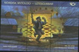 """Aland 2006 Souvenir Sheet Norden Nordic Mythology """"Letesgubbar""""  1v Complete Set ** MNH - Aland"""