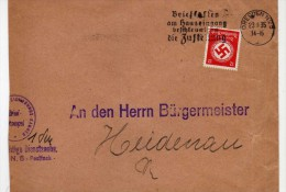 1489   Carta  Dresden  1935 Alemania - Allemagne