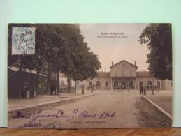 SAINTE-MENEHOULD (MARNE) VUE EXTERIEURE DE LA GARE - Sainte-Menehould