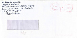 """Guinea Bissau 2001 Bissau Meter Franking  Hasler """"Mailmaster"""" 2 Post Office EMA Cover - Guinea-Bissau"""