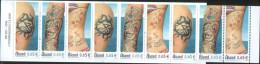 Aland 2006 Booklet Tattoos 3x3v Complete Set ** MNH - Aland