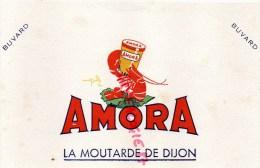 21 - DIJON - BUVARD AMORA   MOUTARDE - Food