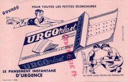 21 - DIJON - BUVARD LABORATOIRES FOURNIER & CIE- URGO PLAST- ENFANT PANSEMENT ANTISEPTIQUE - Food