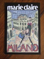Marie Clarie Fashion Carte Postale - Pubblicitari