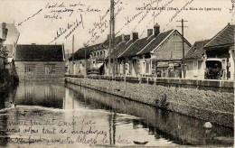 60.42 Sacy-le-Grand - La Mare De Lambardy (lombardy). Carte Circulee. Legers Plis. - Francia
