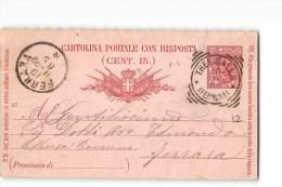10882 TRESIGALLO X FERRARA - 1892 - 1878-00 Umberto I