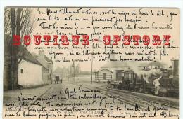 78  SAINT NOM La BRETECHE < GARE Des TRAMWAYS < TRAMWAY < TRAM < BAHNHOF < RAILWAY STATION < DOS SCANNE - St. Nom La Breteche