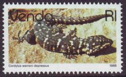 D90303 South Africa Venda R1 GIRDLED Lizard MNH - Afrique Du Sud Afrika RSA Sudafrika - Venda