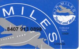 CANADA - Air Miles Member Card, Exp.date 03/09, Used - Aerei