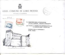 ITALIA: SOBRE CIRCULADO EN EXCELENTE ESTADO- BUSTA CIRCOLATO IN OTTIME CONDIZIONI. GECKO. - 6. 1946-.. Republic